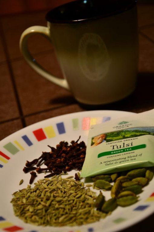 Tea flavourings