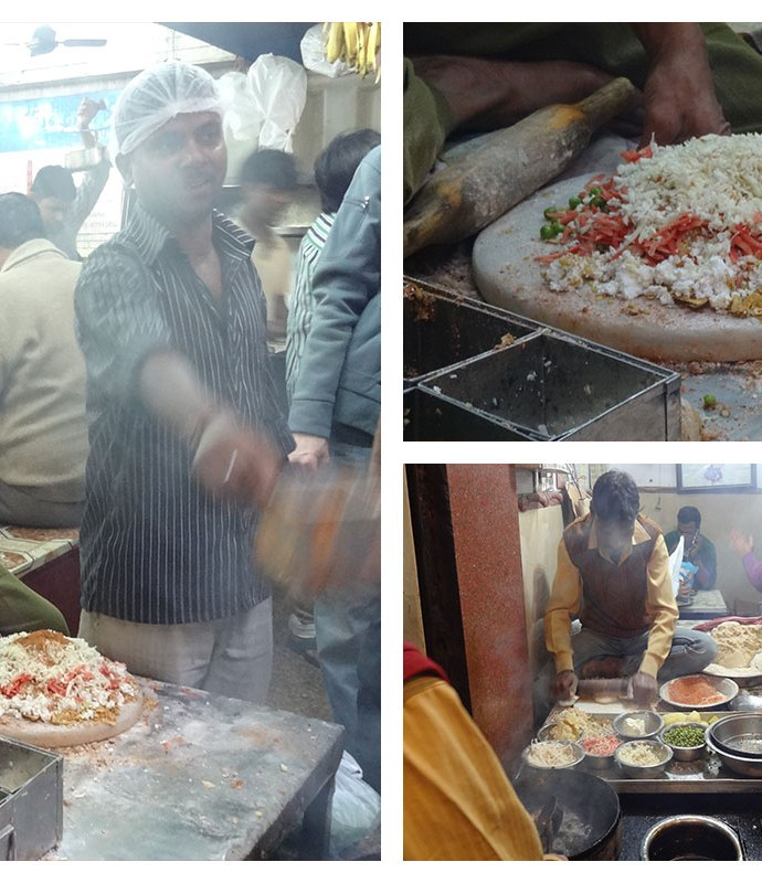 Green Peas Parantha and Dilli – a foodie's delight!