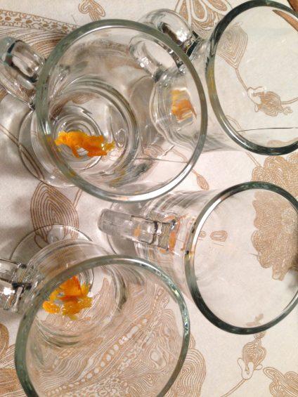 Orange Rind for Garnish