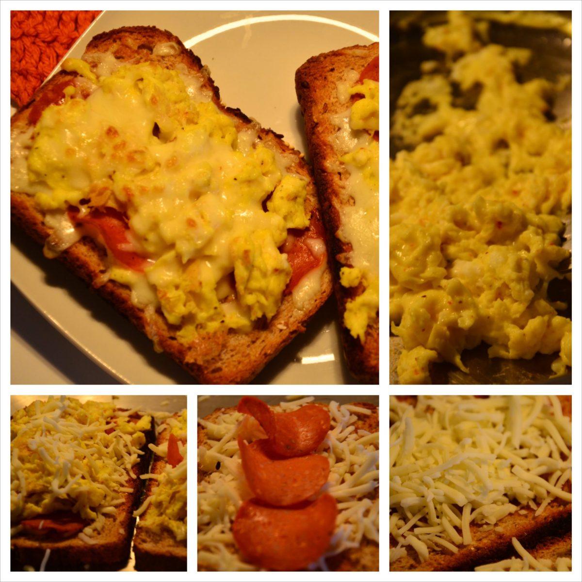 Pizza on Toast