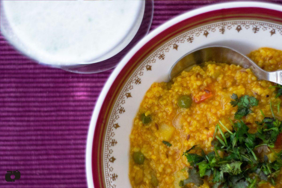 Healthy fibre rich Masala Dalia recipe