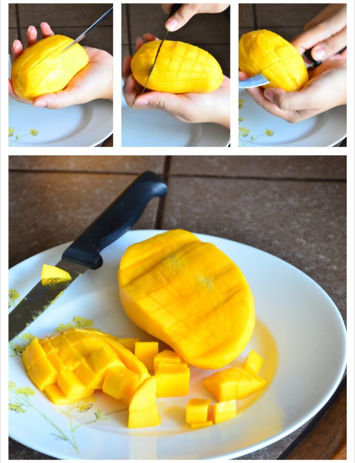 How To: Dice a Mango