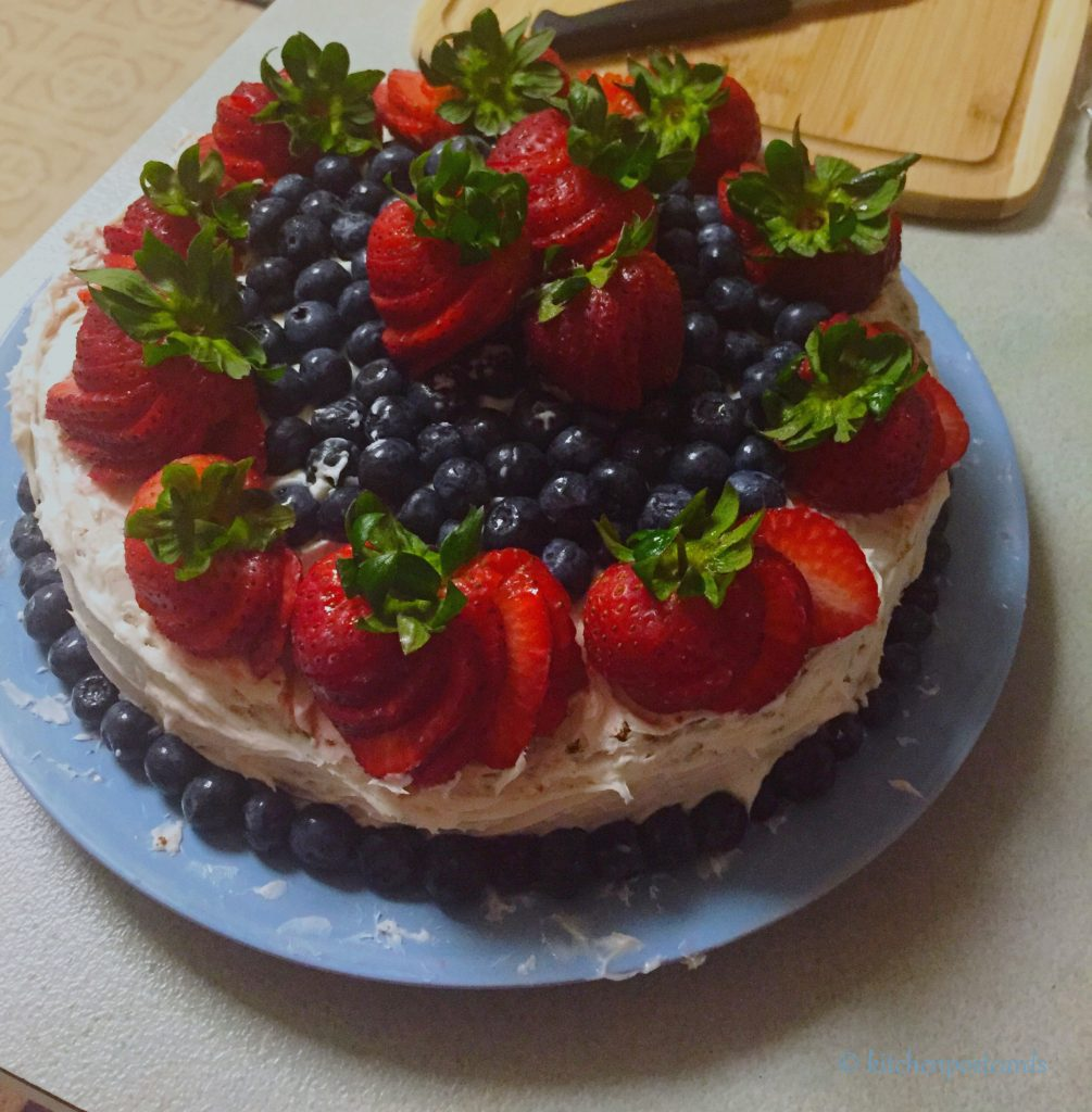 Cake is ready