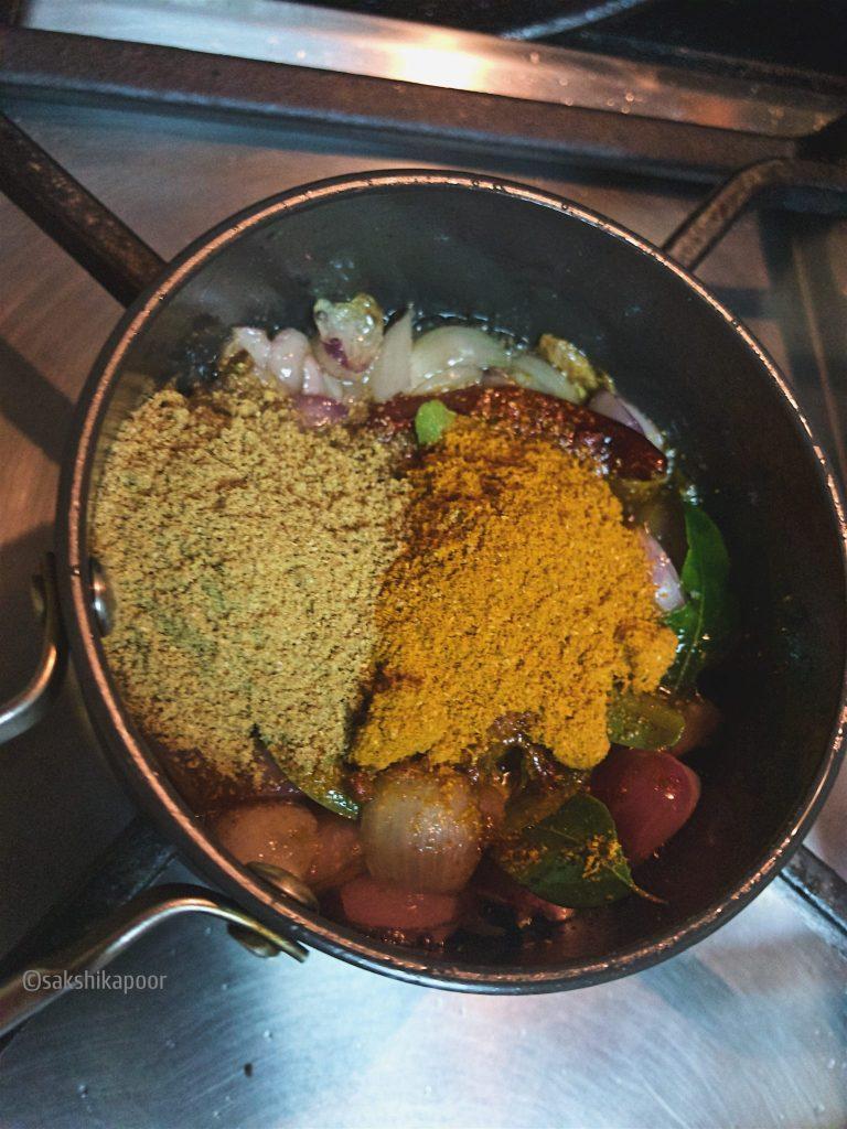 sadhya sambar recipe