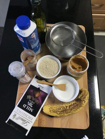 Breakfast mug cake recipe
