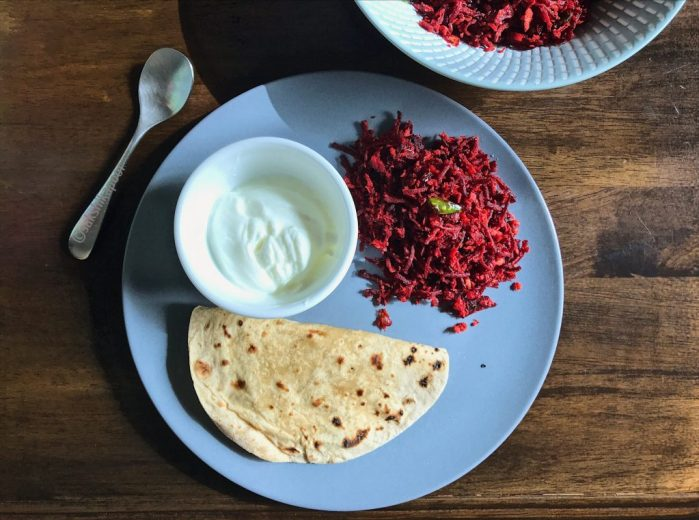 Beetroot thoran recipe