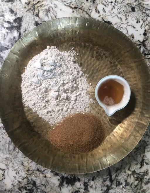 Ingredients for karah prashad