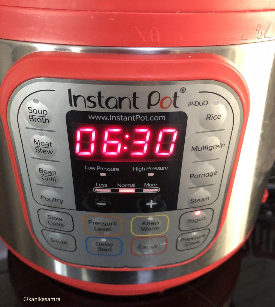 Instant Pot on Yogurt Setting