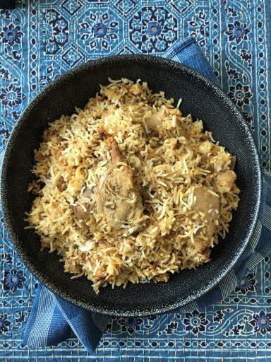 Awadhi Dum Chicken Biryani