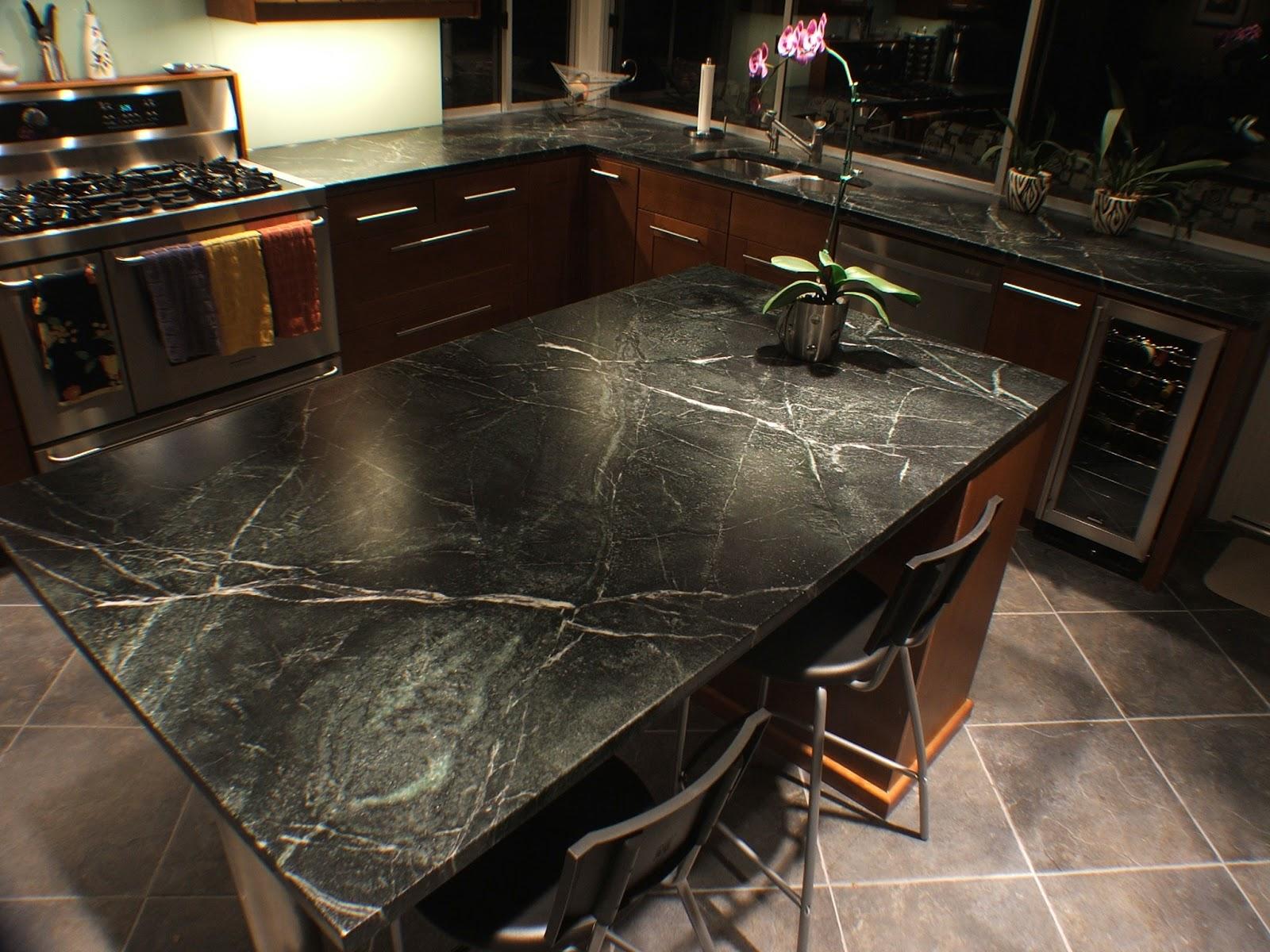 Comparing Natural Stone Countertops   Kitchen Remodeler on Backsplash:gjexfbx4_Ly= Black Granite Countertops  id=76626