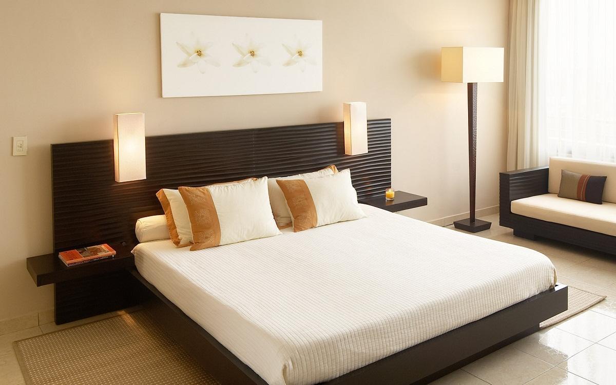 In welchen Farben sollte das Schlafzimmer sein: Tipps zur ...