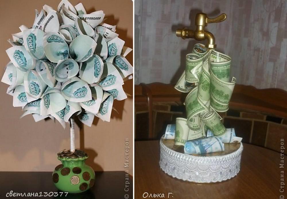 Конфетно денежное дерево своими руками картинки все