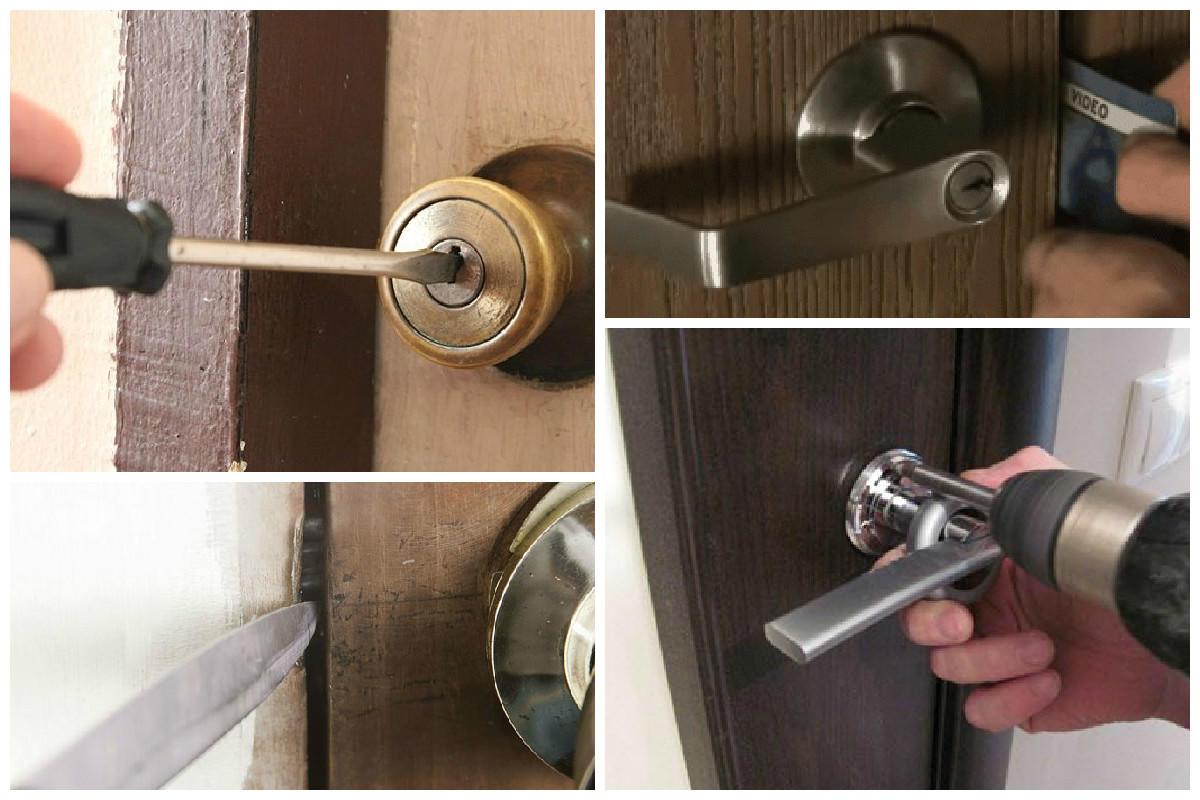 Как незаметно сломать дверной замок у соседа