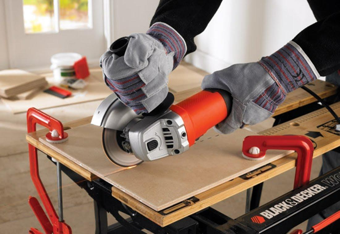 Best angle grinder for tile cutting basic sawhorse