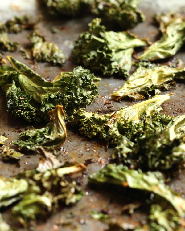 kale chips crisp snack