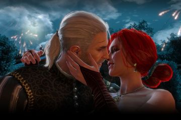 Geralt and Triss