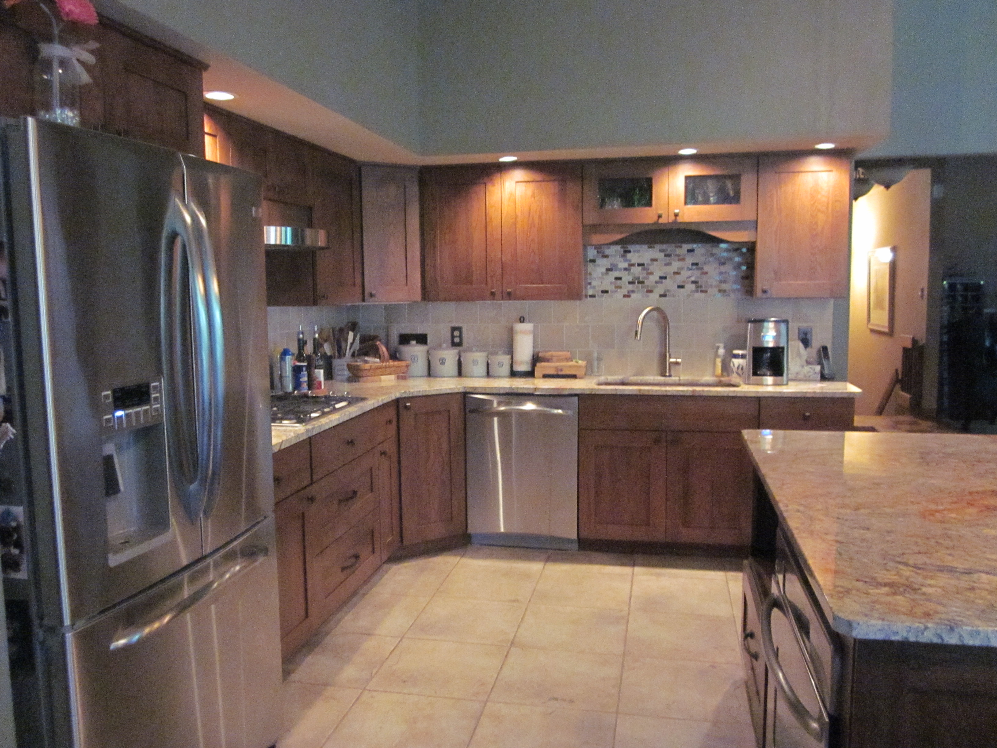 rustic kitchen remodel 5350 12 - kitchens by diane - rockford, il