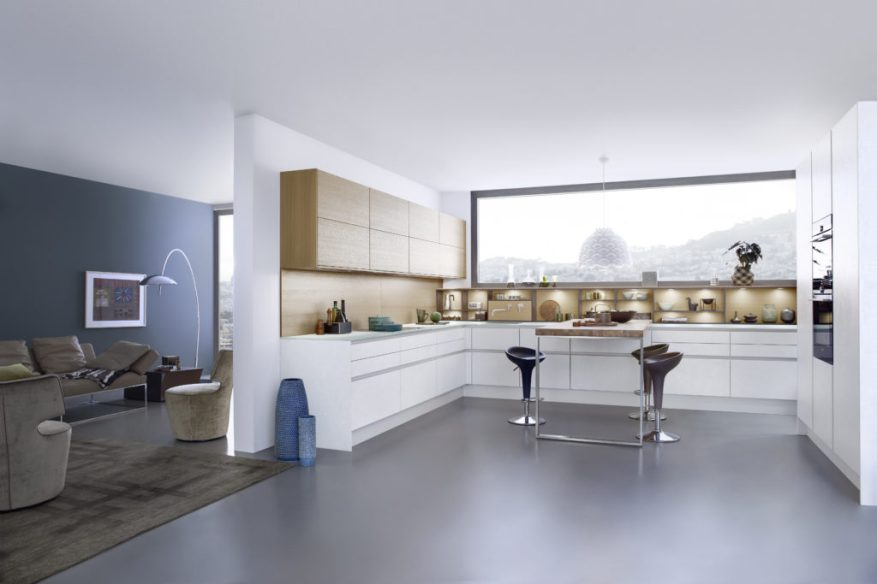 u shaped kitchen layouts