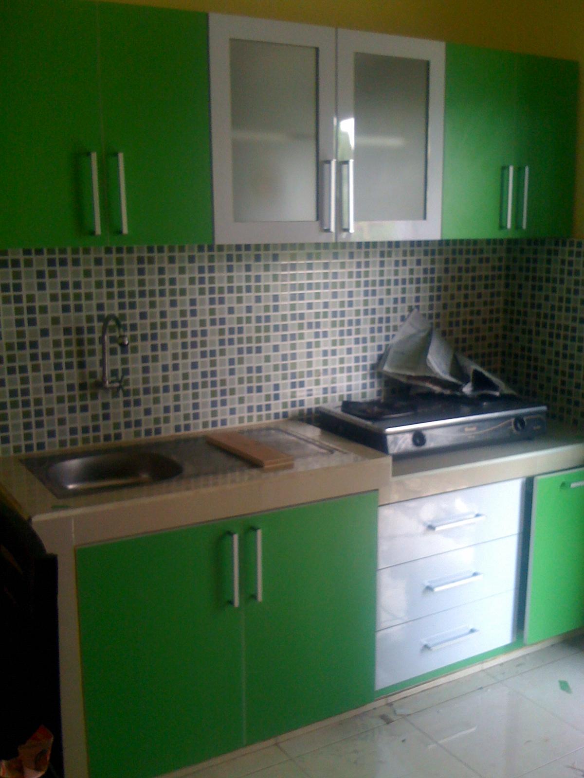 Kitchen Set Finishing HPL Motif Warna Kitchensetmurahyogyakarta