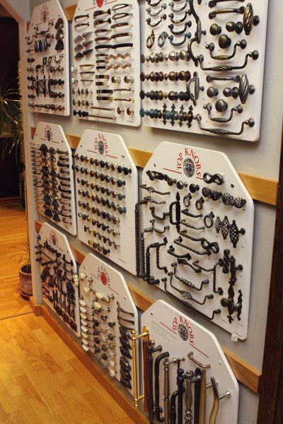 Choosing hardware for your custom cabinets