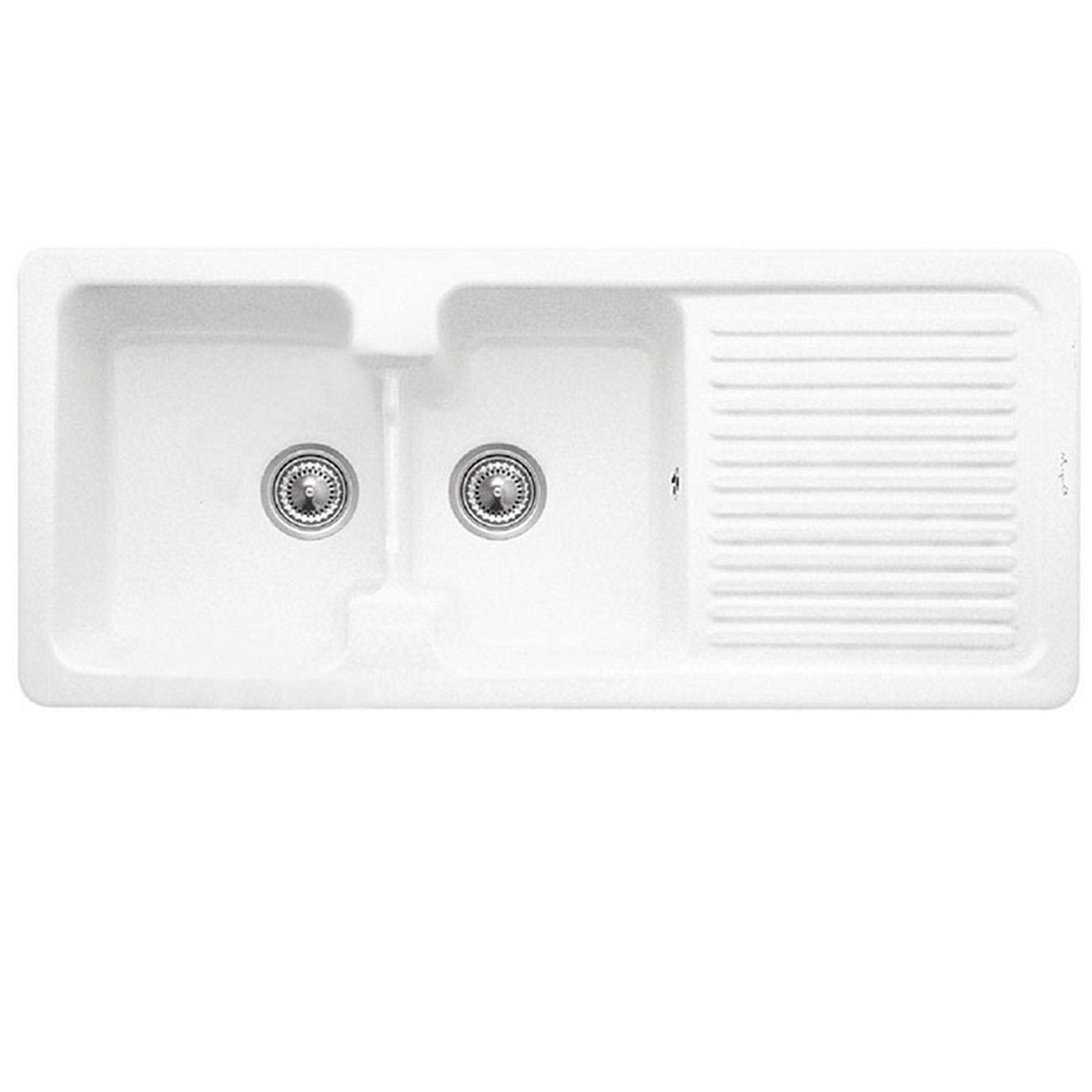 Double Bowl Kitchen Sink With Drainboard Uk Wow Blog