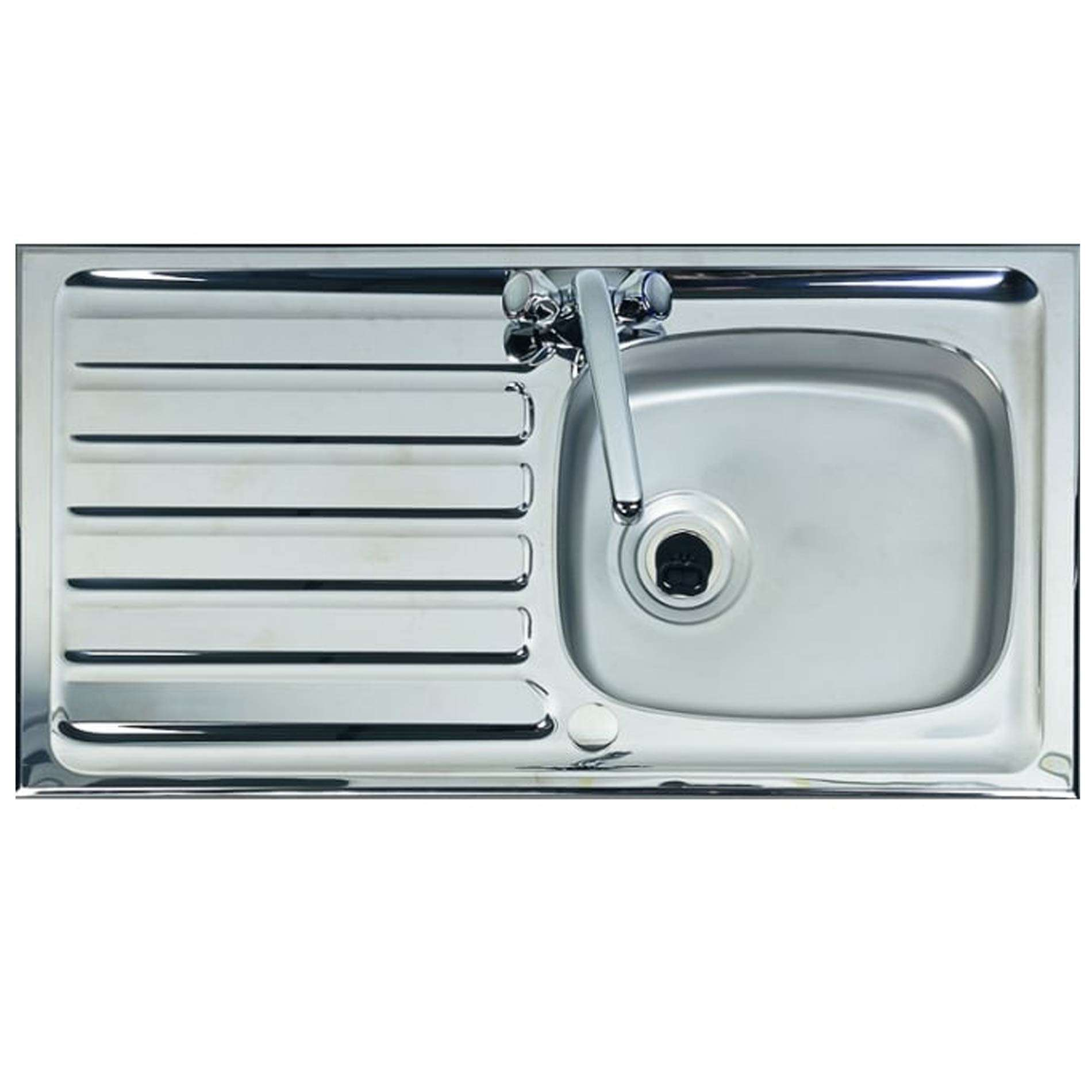 clearwater contract ph940 single bowl stainless steel sink