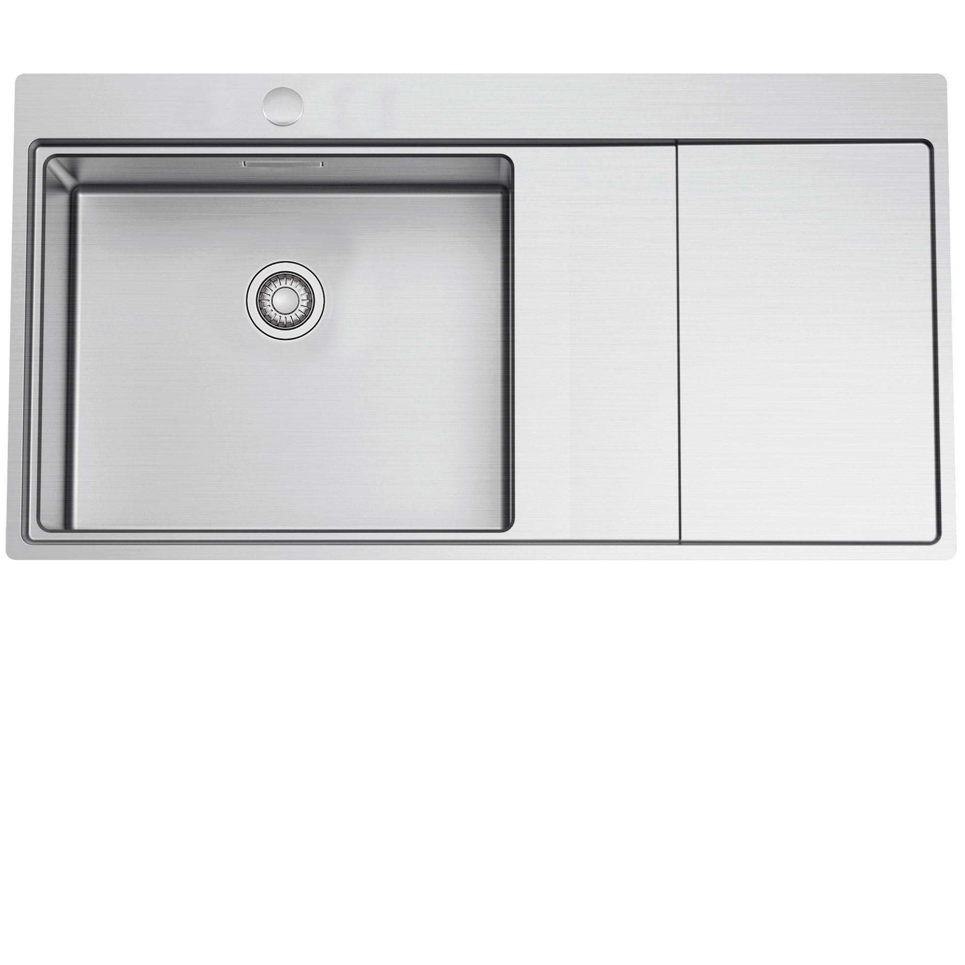 clearwater xeron 105 large single bowl stainless steel sink