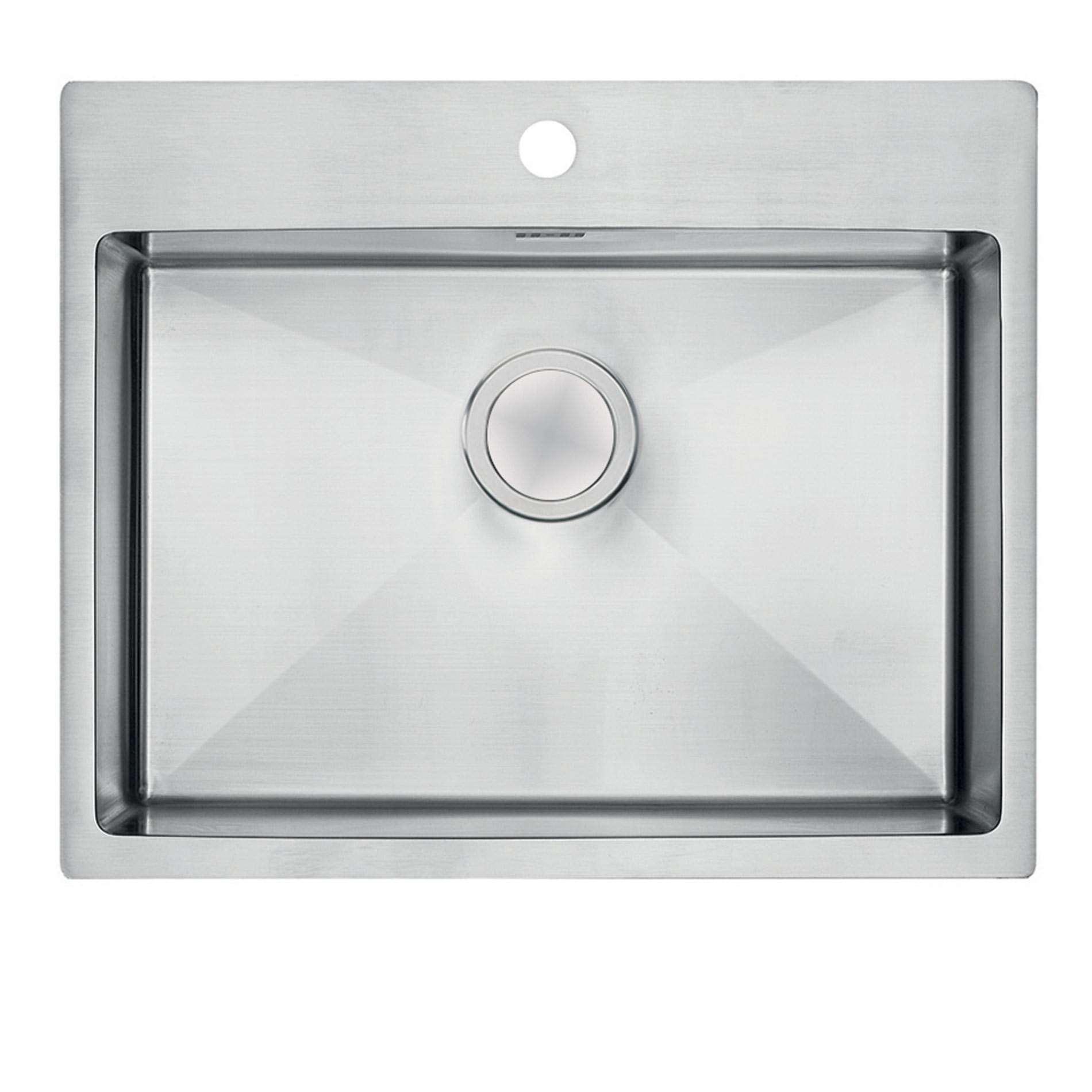 clearwater urban ur660 single bowl stainless steel sink