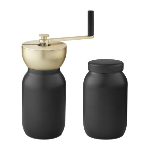 Stelton - Nordic Collar Coffee Grinder Black 2
