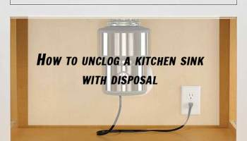 How to unclog a kitchen sink how to unclog a kitchen sink with disposal workwithnaturefo