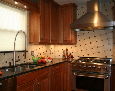 Traditional Cherry Kitchen