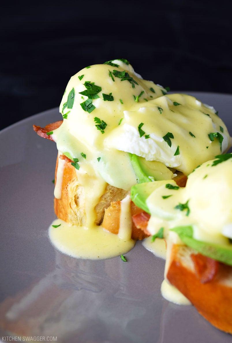 Eggs Benedict With Avocado Recipe Kitchen Swagger