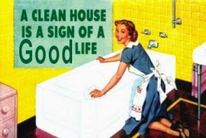 Out damn spot: On the drudgery of housework