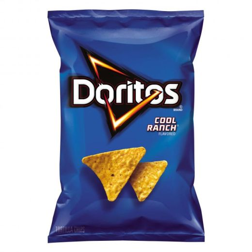 Cool Ranch Doritos Package- New Year's Eve snacks