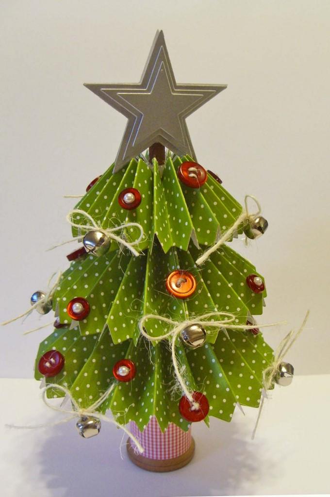 Rosette Christmas Tree Video Tutorial Kitchen Table Stamper