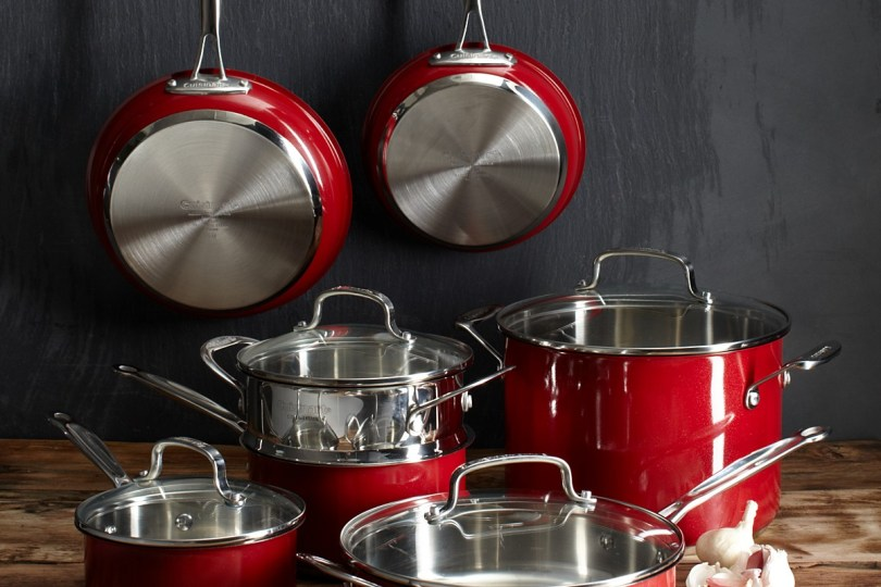 Red Cookware Set