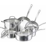 Farberware Millennium Stainless Steel Nonstick 10-Piece Cookware Set