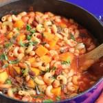 Vegetarian Pasta e Fagioli Recipe