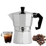 VonShef 3 Cup Italian Espresso Coffee Maker Stove Top Macchinetta