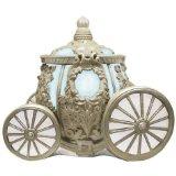 Westland Giftware Disney Cinderella's Carriage Ceramic Cookie Jar, Multicolor