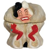 Westland Giftware Cruella De Vil Ceramic Cookie Jar, 9-Inch