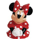 Minnie Mouse Cookie Jar - Handpainted Collectible For The Shelf Or Kitchen