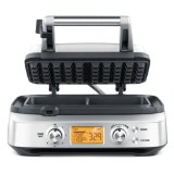 Breville Smart Waffle Pro Stainless Steel 2 Slice Waffle Maker