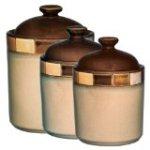 Gibson Casa Estebana 3-piece Canister Set