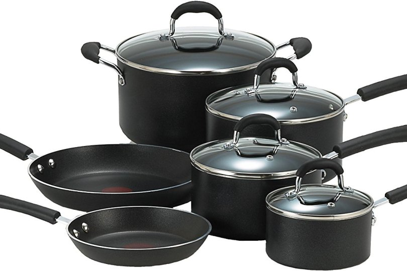 T-Fal Professional Total Non-Stick 10-Piece Cookware Set