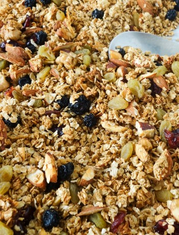 Homemade granola mix