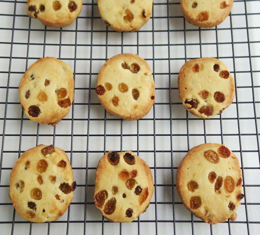 Rum & raisin cookies