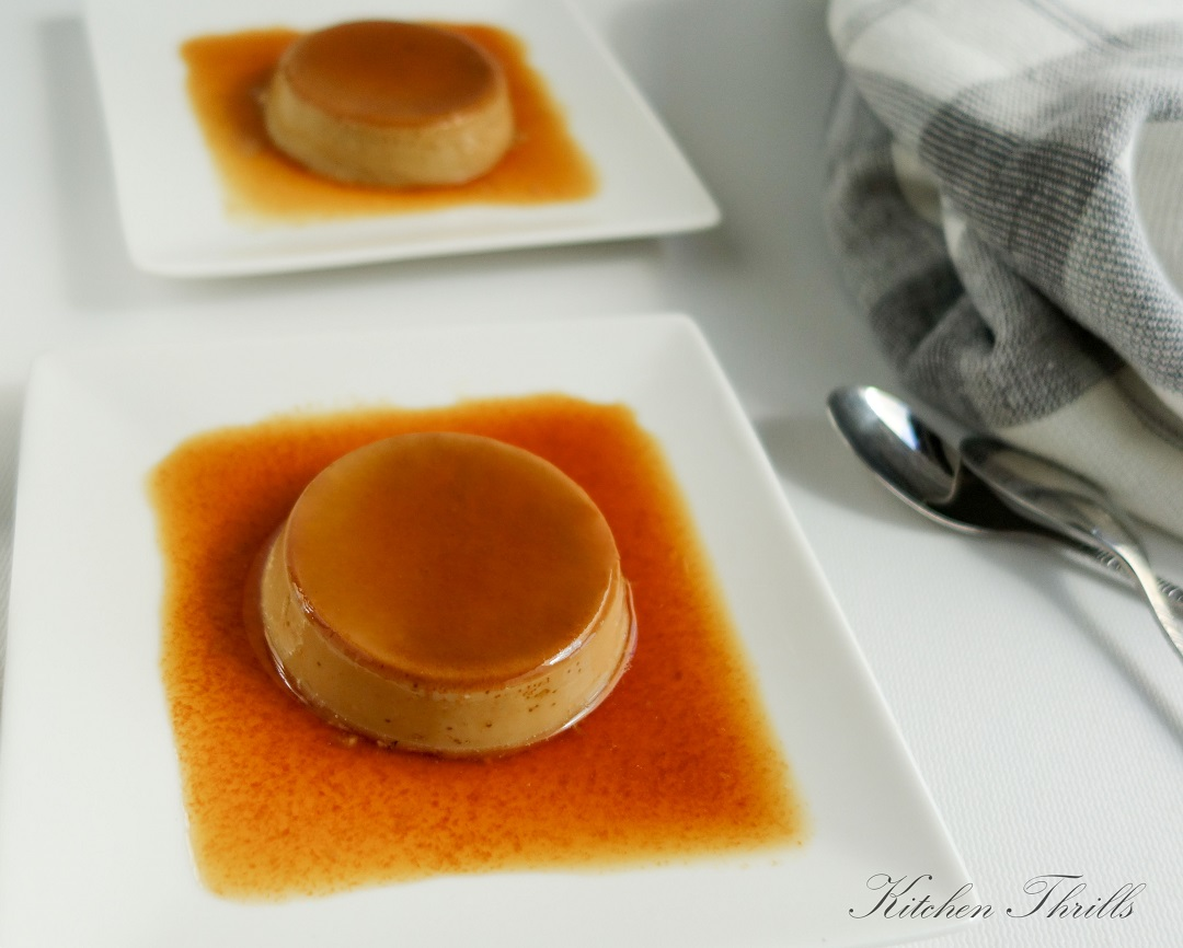 A smooth, silky coffee crème caramel recipe. A perfect sweet treat after dinner.