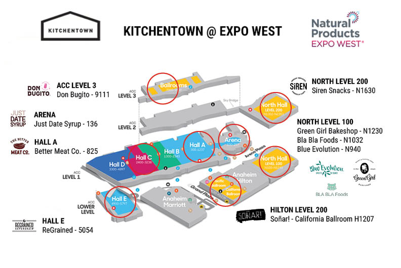 KitchenTown Makers at Expo West