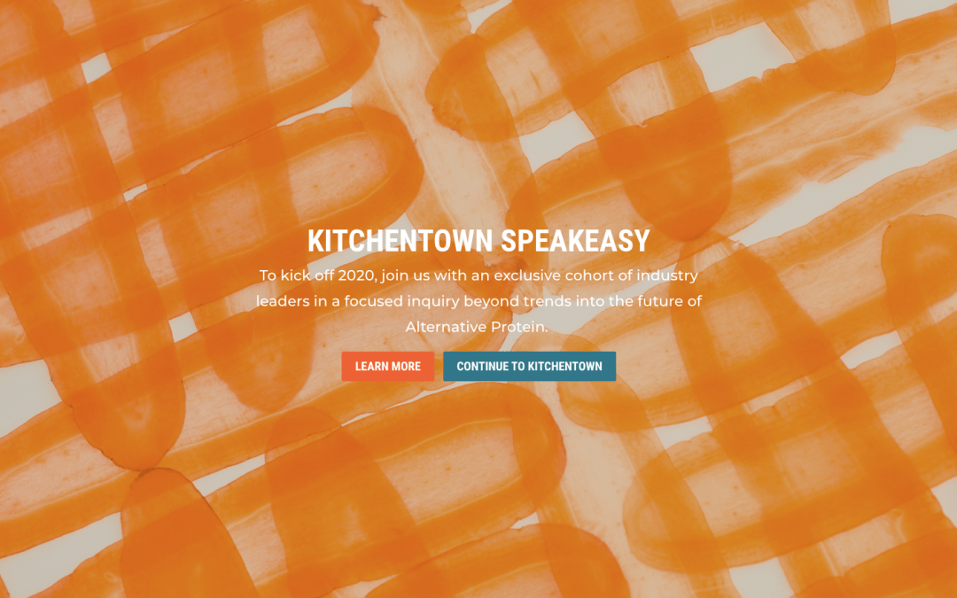 KitchenTown Speakeasy Launches Application for First Cohort for 2020